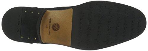 Hudson London Herren Lennon Nubuck Kurzschaft Stiefel Schwarz (Black)