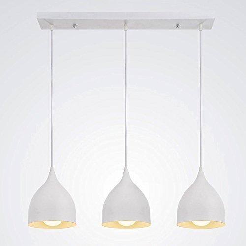 TLX-LAMP Lampada A Sospensione Lampadario in Metallo Design Moderno per Soggiorno Camera da Letto Sala da Pranzo Cucina Lampada da Parete Industriale retrò personalità Creativa E27 Interno