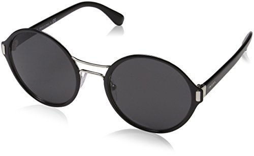 Prada Damen 0PR57TS GAQ5S0 54 Sonnenbrille, Schwarz (Black/Silver/Grey),