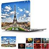 MacBook Pro 38,1cm Retina Case, papyhall Druck Blumen Series Muster Kunststoff Hard Schutzhülle für Apple MacBook Pro 38,1cm mit Retina Display Modell: A1398 4 Eiffel Tower