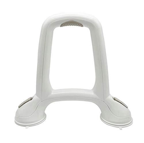 Mobile Biegestütze für Sicherheitsgriffe U-förmige Saugnapf-Badezimmer-Armlehnen-Rahmen, Bad-WC-WC-WC-Sitz für ältere Menschen Rutschfester WC-Handlauf-Sicherheitsgriff Barrierefreier Safe Mobiles Zub -