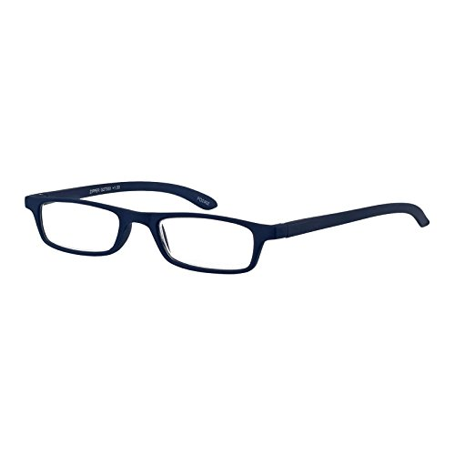 I NEED YOU Lesebrille Zipper / +2.00 Dioptrien / Blau