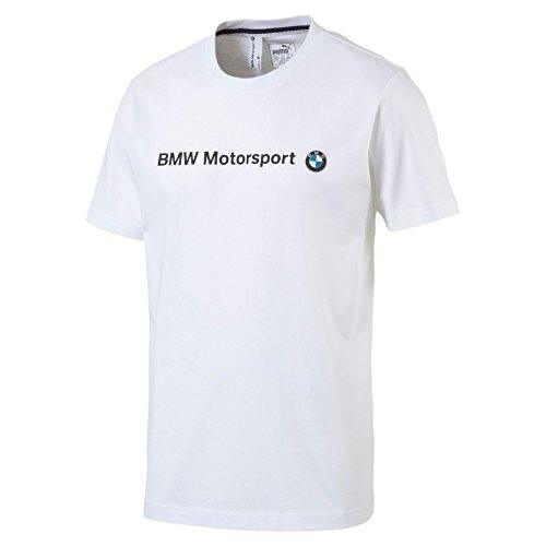 Puma BMW Msp uomo Logo t-shirt Puma White