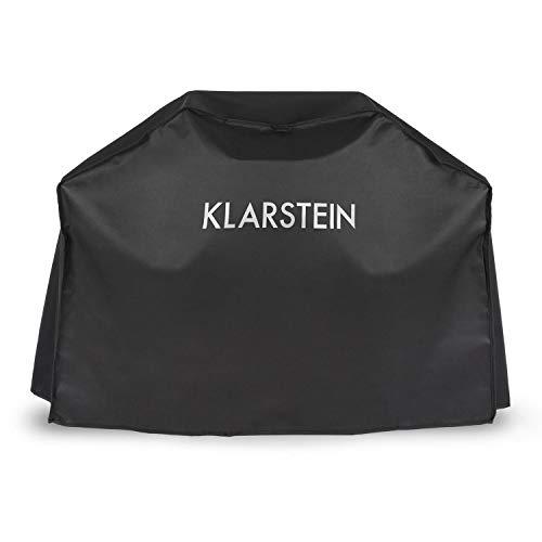 Klarstein highgrade 4 ib • copertura per grill • copertura protettiva per griglia • resistente contro le intemperie • 600d canvas • 30/70% pe/pvc • perfetta vestibilità per highgrade 4 ib gas grill • nero