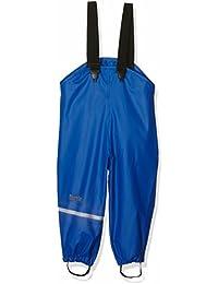 CareTec Pantalones Impermeable Unisex Niños, Azul (Ocean blue), 98