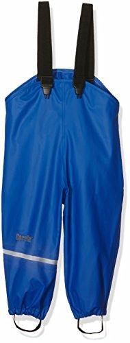 CareTec Kinder Regenlatzhose, wind- und wasserdicht (verschiedene Farben), Blau (Ocean blue 706), 140