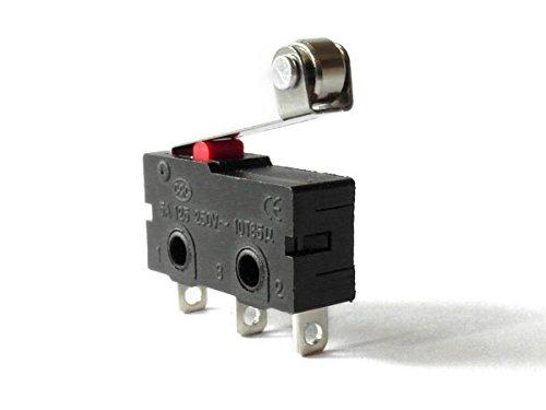 Mikroschalter Endschalter 5A 125 250V CQC Wechselschalter mit Rolle Modell: - Mikroschalter Endschalter
