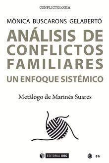 Análisis de conflictos familiares (Manuales) por Mònica Buscarons Gelabertó