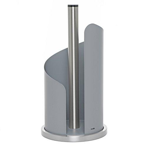 stardis Küchenrollenhalter Edelstahl, grau matt Rollenhalter für Küchenrolle