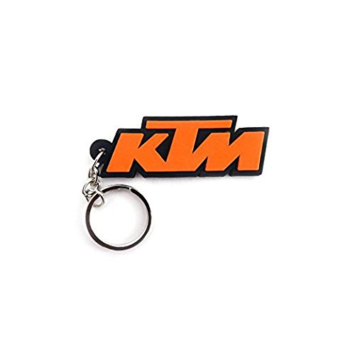 B TO B TRADERS KTM Bike Logo Silicone Keychain Orange Colour