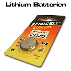 Becocell cR1612 pile au lithium
