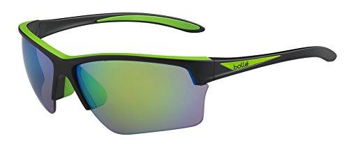 bollé Sonnenbrille Flash Sonnenbrille L Matte Black/Green