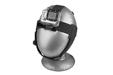 8K Xtreme action cam Harnais de tête pour caméras GoPro Action–Le meilleur GoPro Harnais de tête, pour la plupart des caméras embarquées GoPro dont GoPro Hero2, HERO3GoPro, GoPro Hero 4, Session et de nombreux