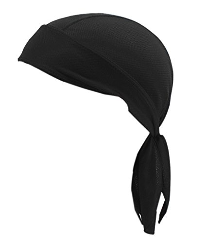 Motorcycle Quickly Dry Wicking Breathable Sun Uv Protection Sports Headwear Adjustable Scarf Cap