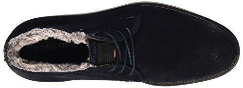 BOSS Casual Herren Tuned_Desb_sdfur 10201446 01 Desert Boots Blau (Dark Blue)