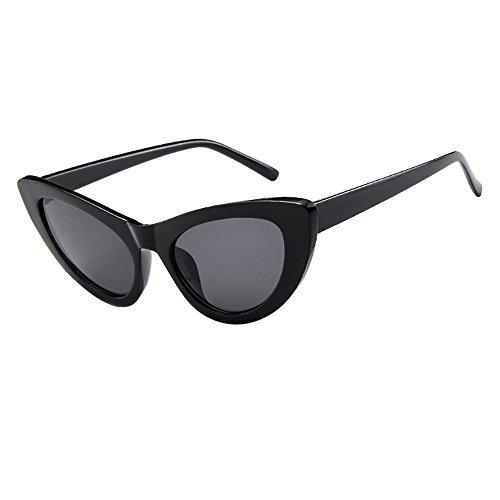 Honestyi Frauen Männer Vintage Retro Brille Unisex Mode Cat Eye Sonnenbrillen Eyewear 97002