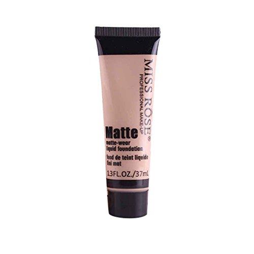 Miss Rose Matte Concealer Feuchtigkeitscreme Creme Lotion Frauen Mädchen Make-up Flüssig Whiten Foundation Creme (Flüssige Matte-foundation)