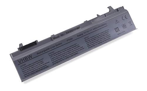 vhbw Batterie Compatible avec Dell Latitude E6510 Laptop (4400mAh, 11.1V, Li-ION, Gris argenté)