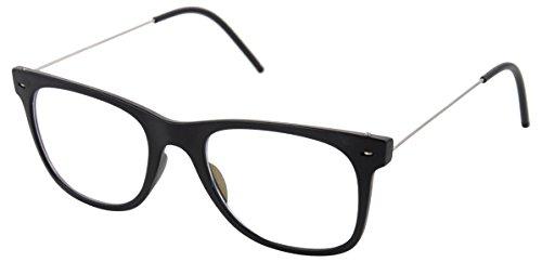 FADDISH Antireflective Wayfarer Unisex Sunglasses with Case - (BO45MTBTMWY|50 mm|Transparent)