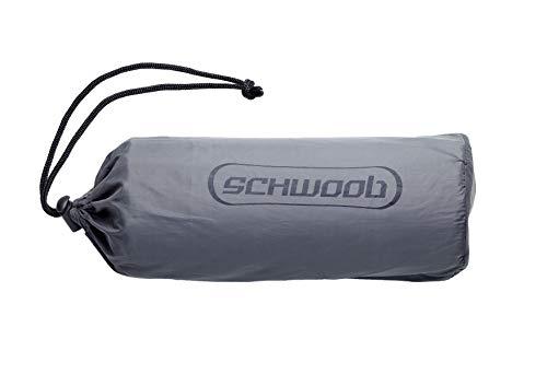 SCHWOOB Isomatte Luftmatte Schlafsack, aufblasbare leichte Camping Matte Matratze Wasserdicht Air Schlafmatte für zu Hause Zelten Wandern Rucksackreisen Camping Reisen Festival - 2