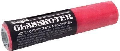 CORONA BRUSH 4 GLASSKOTER 1/8 NAP (RED) by Corona Brush -