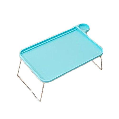 dexinghaoye tragbar faltbar Tablet Tisch Schreibtisch Computer Notebook Tablett Ständer für Bett Sofa, grün, 44.5cm x 29cm x 19cm (Approx.)