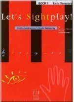 Let's Sight Play! Early Elementary Piano, Book 1 by Kathleen Massoud (1995-08-02)