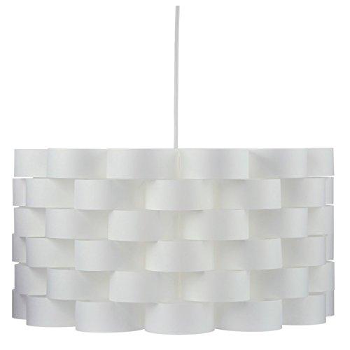 Suspension lustre au style épuré - Aspect fibre de verre