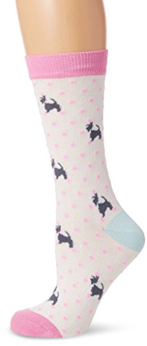 Joules Women's Brill Bamboo Casual Socks, 100 Den