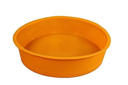 Original gmmh tortiera di silicone, stampo rotondo, diametro: 24cm, ideale per torta e pane