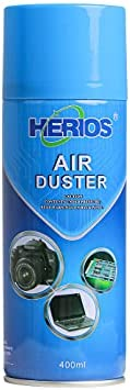 HERIOS Compressed Gas (152a) Disposable Cleaning Duster 400 g, 400ml 13.5 oz Can