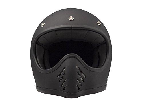 DMD - Helm aus Kohlenstoff-Kevlar-Faser \'SeventyFive Matt Black\', Größe: XL