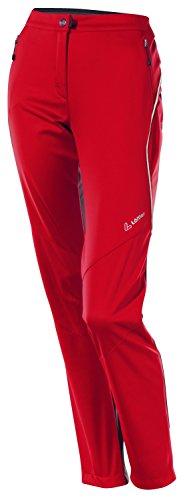 Löffler pantalon de ski de fond pour femme rouge