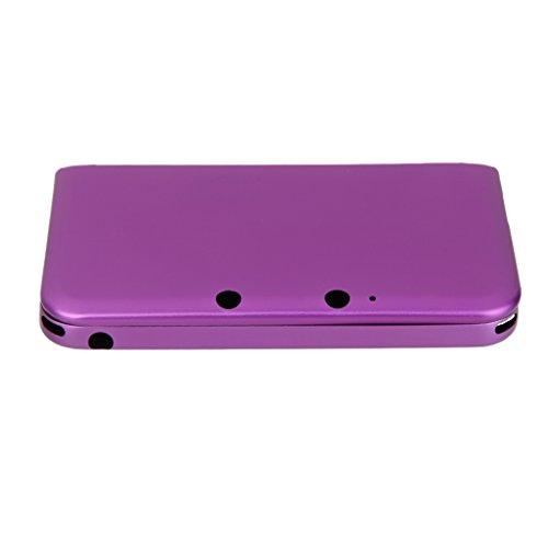 Aluminium Schutzhuelle Protection Case Hard Skin Case Cover fuer Nintendo 3DS LL XL Lila