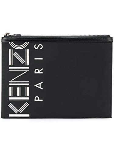 Kenzo Pochette Donna F855pm202f2499 Pelle Nero