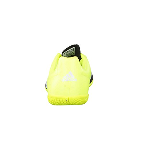 adidas Performance  Ace15.4 IN, Chaussures de Football garçon Noir - core black/ftwr white/solar yellow