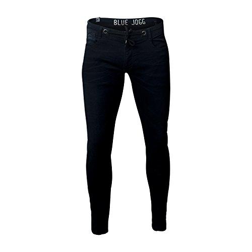 Japan Rags LTC Herren Jogg Jeans, black/blue Black/Blue