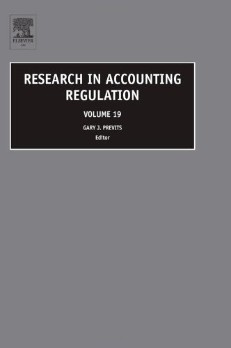 Research in Accounting Regulation: Vol. 19
