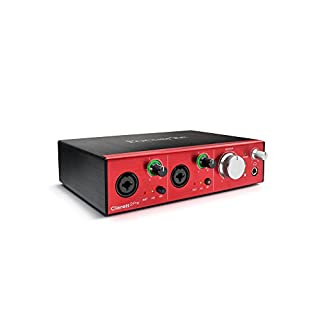 Focusrite Clarett 2Pre 10-In/4-Out Thunderbolt Interface with 2 Mic Preamps