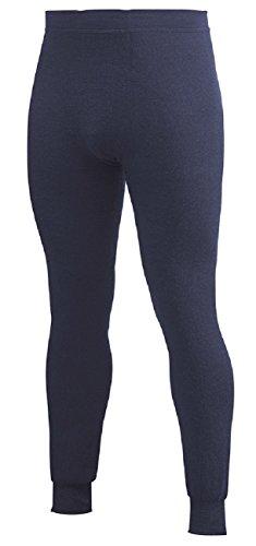 Woolpower 400 Long Johns Pant Men - Thermounterwäsche ohne Eingriff dunkelblau
