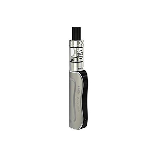 Eleaf iStick Amnis Starter Kit 900mAh mit GS Drive Atomizer 2-ml-Direktausgabemodus E-Cig-Kit Kompaktes Design für tragbares Tragen - Kein Nikotintabak (Silber)