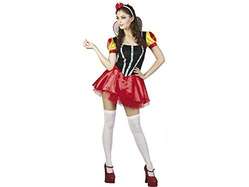 Sexy Eisprinzessin Kostüm - DISONIL Kostüm Sexy Eisprinzessin Frau Größe XL
