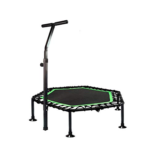 KFXL Fitness Trampolines Trampoline - 48-inch Gym Full Folding Trampoline  For Adult Safety Compact Trampoline For Spring-free Trampoline With Lifting