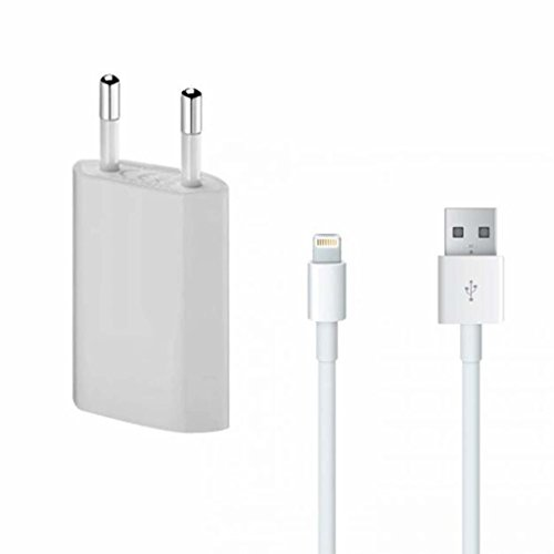 SPARKEY PLUS USB Power Adapter Wall Charger&Data Cable for iPhone 5/5S/5C/6/6S