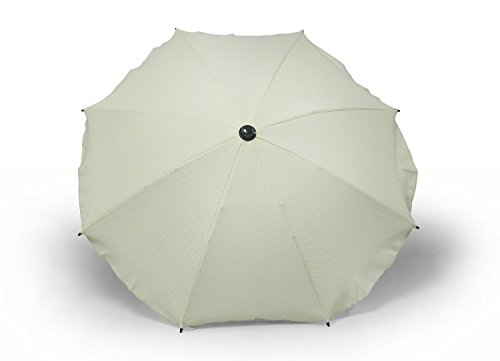 Sombrilla y paraguas universal para carros y sillas de bebé, con soporte universal, protección contra rayos UV 50+ beige