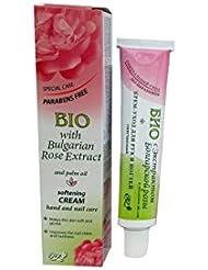 Bio Crème Adoucissante pour Main et ongles a l'extrait de Rose Bulgare Sans Parabènes