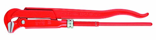 KNIPEX 83 10 015 90-Degree Swedish Pattern Pipe Wrench by Knipex