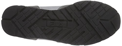 Fila Quincy P Low, Baskets Basses Homme, Gris Noir - Noir