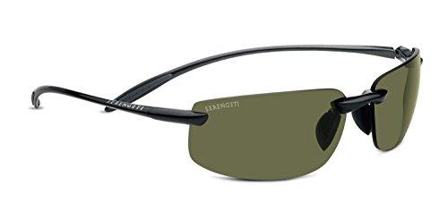 Serengeti lipari, occhiali da sole unisex - adulto, brillante hematite, m