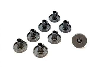 Rouleau set 8 x roues de panier panier pour panier inf rieur lave vaisselle - Lave vaisselle progress ...